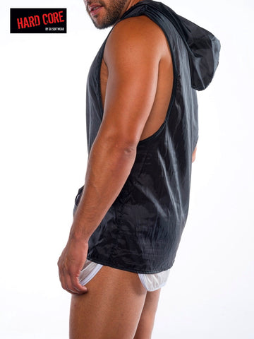 Fluid Sleeveless Hoody