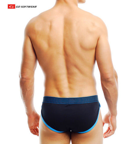 POP Noir Sporty Brief