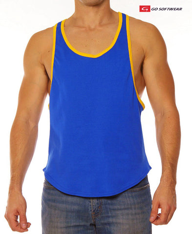 HUNTINGTON Y Back Muscle Tank