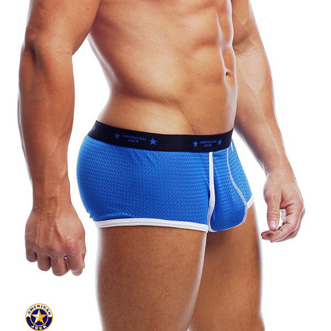 A J Action Mesh Sq-Cut Brief