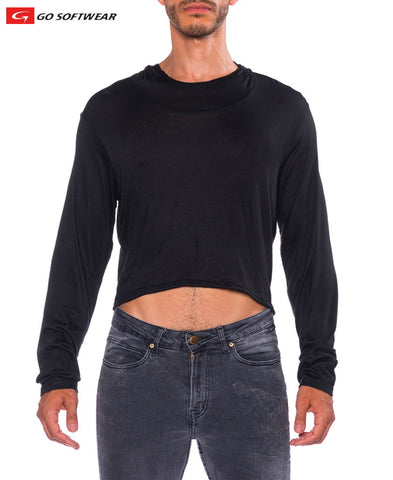 B2E Alessandro Pull-Over Hooded Crop Top