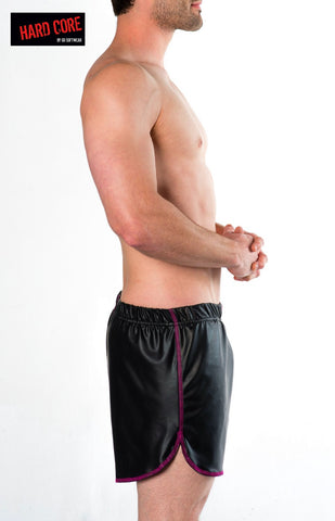 Fetiche Pleather Short W/Built-in Jockstrap