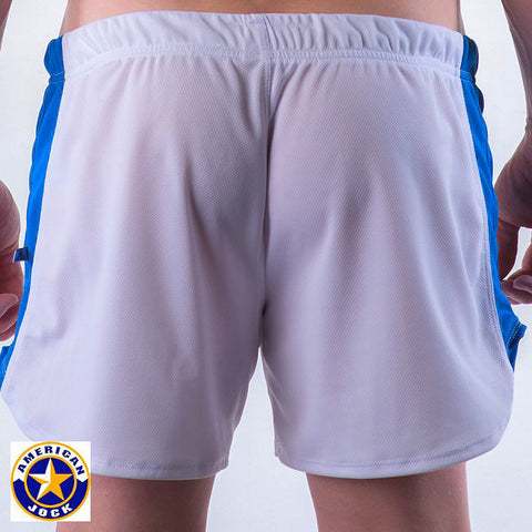 A J Sprint Running Short w/Built-In Jockstrap