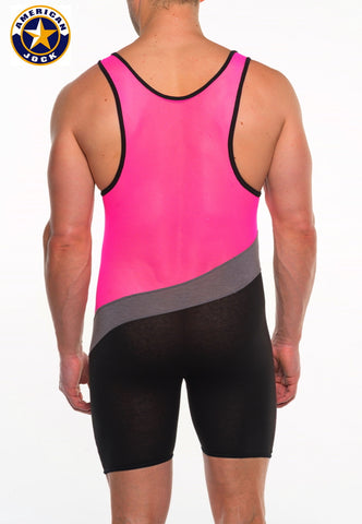 A J Elite Tri-Color Singlet