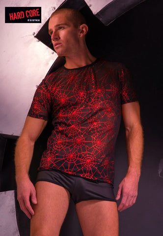 HARD CORE Cobweb Tee