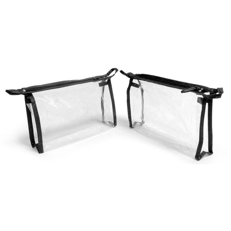 Clear Vinyl Travel Toiletry Bag - ZaZoLi