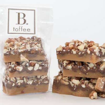 Milk Chocolate Pecan Toffee - ZaZoLi
