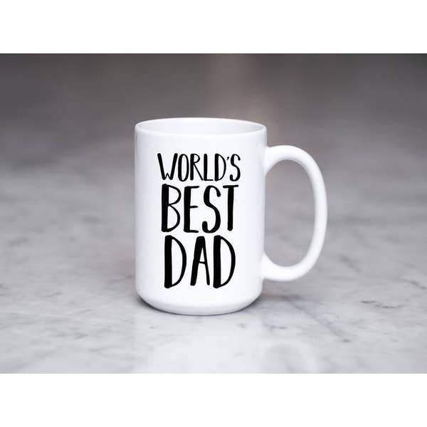 World's Best Dad 15 oz Mug - ZaZoLi