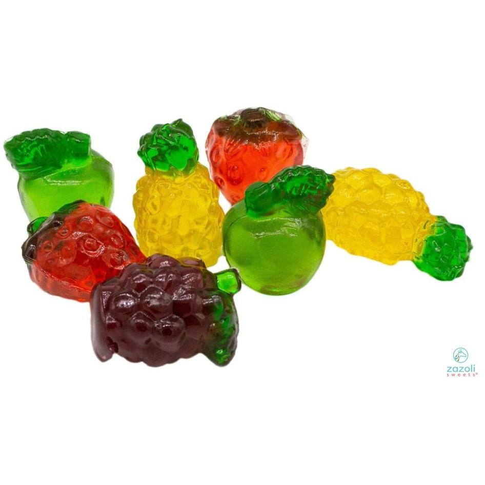 3-D Fantastic Fruit Gummies