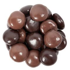 Milk and Dark Chocolate Sea Salt Caramels - ZaZoLi