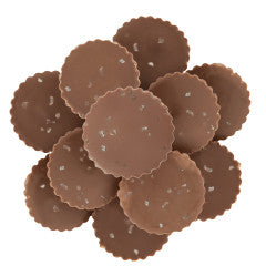 Milk Chocolate Peanut Butter Cups with Sea Salt