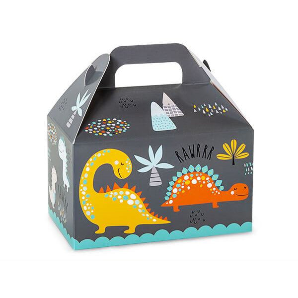 Dinosaurs Party Favor Gable Box