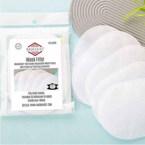 iFilter Disposable Face Mask Filters (10 Per Pack)