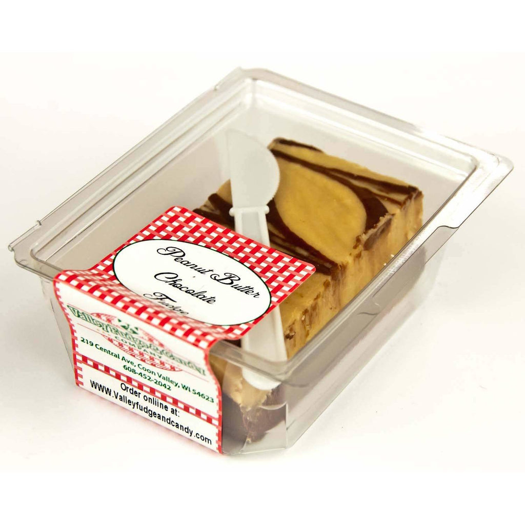 Peanut Butter Chocolate Fudge - ZaZoLi