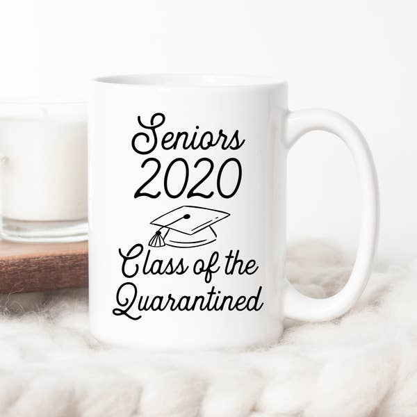 Seniors 2020 Class of the Quarantined 15 oz Mug