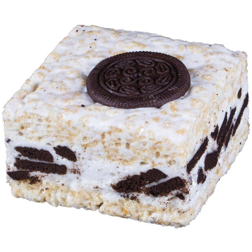 Cookies & Cream Crispycake