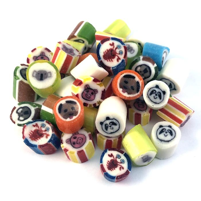 ZaZoLi Sweets® Animal Mix Rock Candy - ZaZoLi
