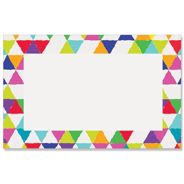 Bright Mosaic Border Enclosure Card