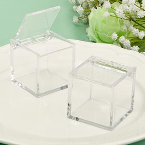 "Small Square Acrylic Favor Box (1.75"") - ZaZoLi"