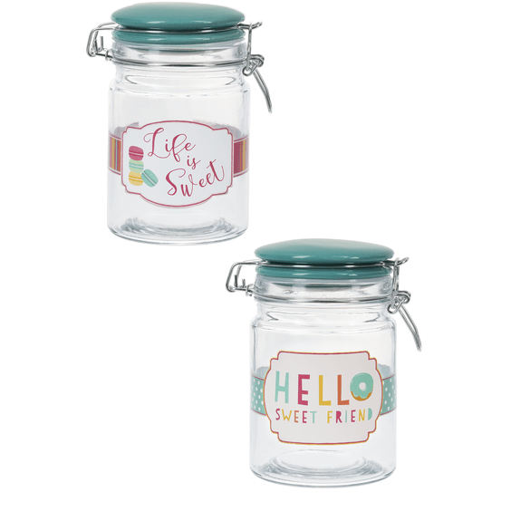 Sweets Jar with Clamp Lid - ZaZoLi
