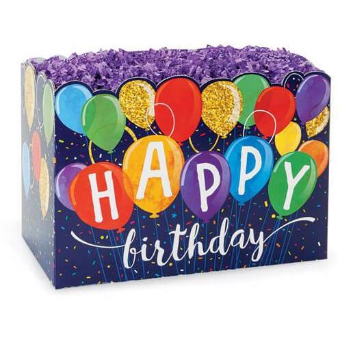 Happy Birthday Balloons Gift Box - ZaZoLi