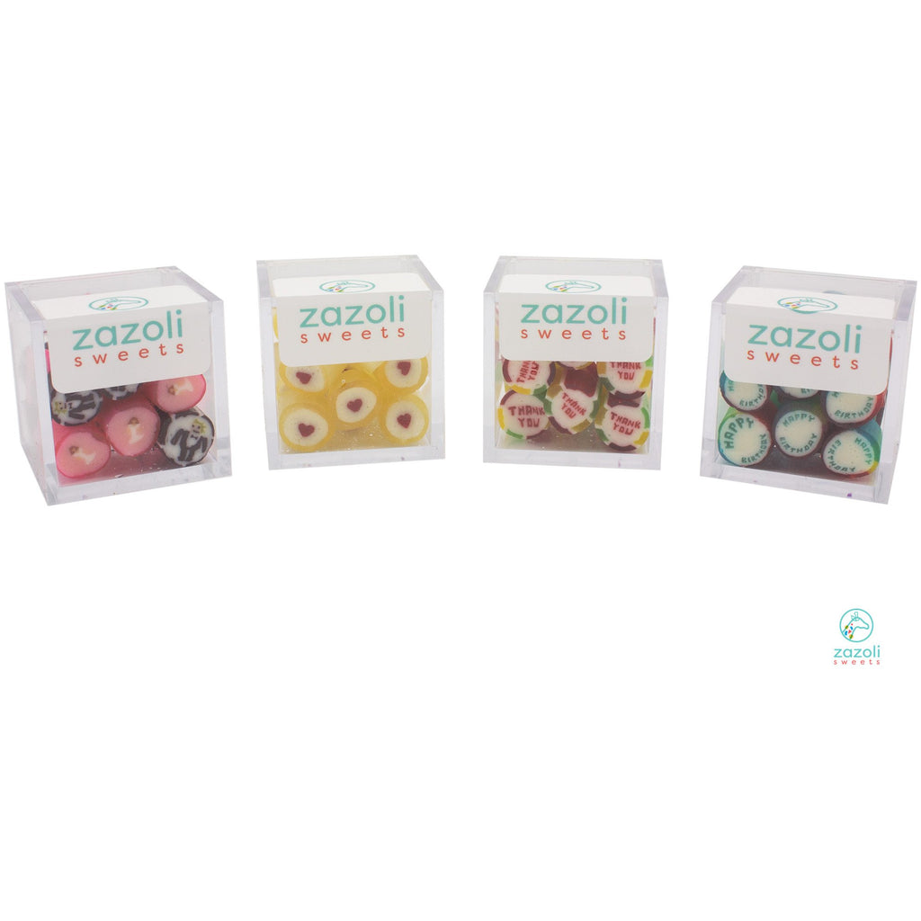 ZaZoLi Sweets® Love Hearts Rock Candy