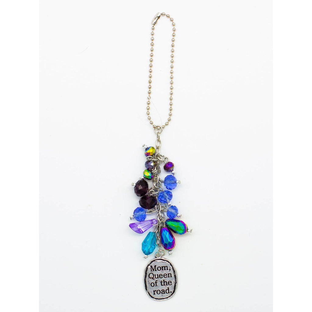 """Mom, Queen of the Road"" Car Charm - ZaZoLi"