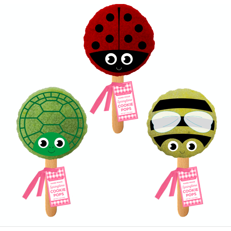 Springtime Critters Cookie Pop