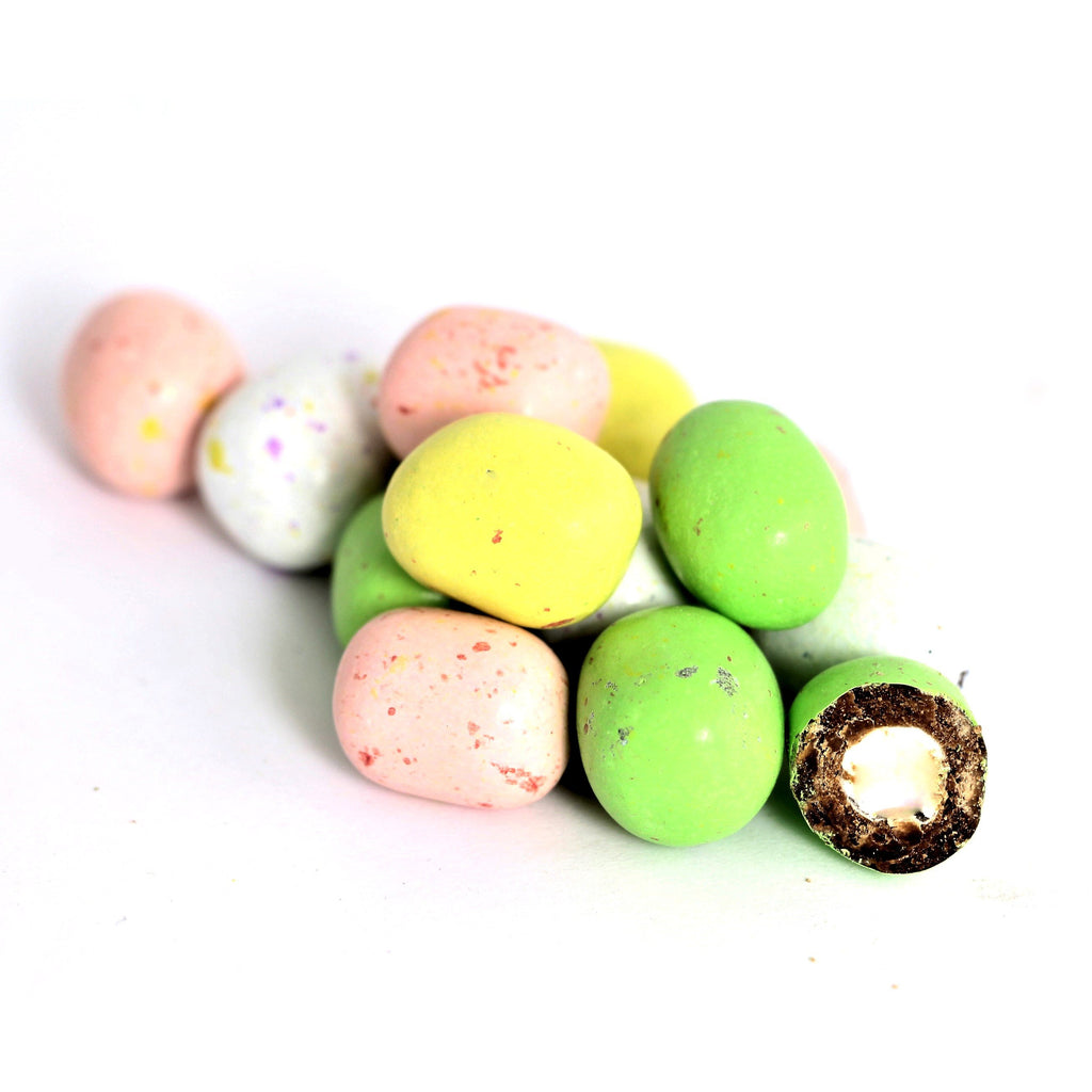 Speckled Milk Chocolate Pastel Marshmallow Eggs