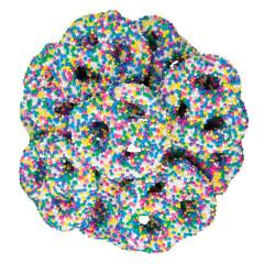 Yogurt Mini Pretzels with Pastel Nonpareils - ZaZoLi