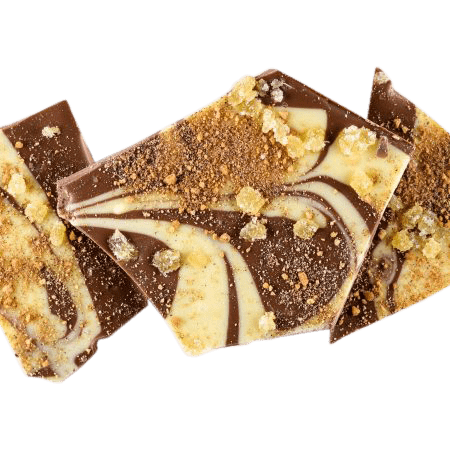 Gingerbread Chocolate Bark - ZaZoLi