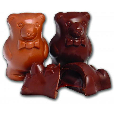 Truffle Bears (4 Piece Gift Box) - Birnn Chocolates of Vermont
