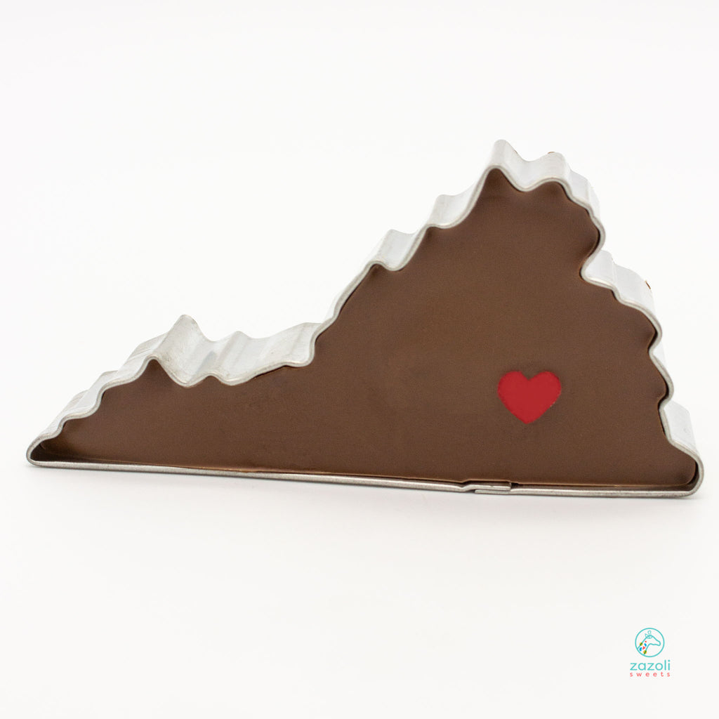 Virginia Chocolate Filled Cookie Cutter