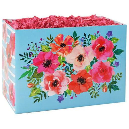 Watercolor Flowers Gift Box (Large)