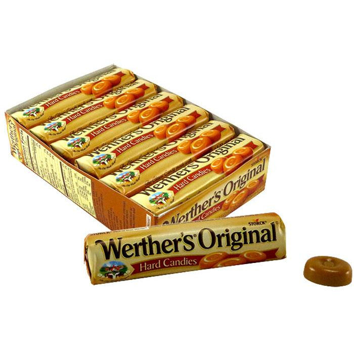 Werther's Original Hard Caramel Candy - Roll