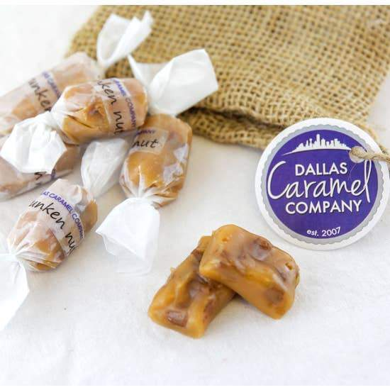 Texas Drunken Nut Caramels