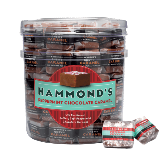 Hammond's Chocolate Peppermint Caramels