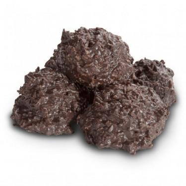 Dark Chocolate Coconut Haystacks - ZaZoLi
