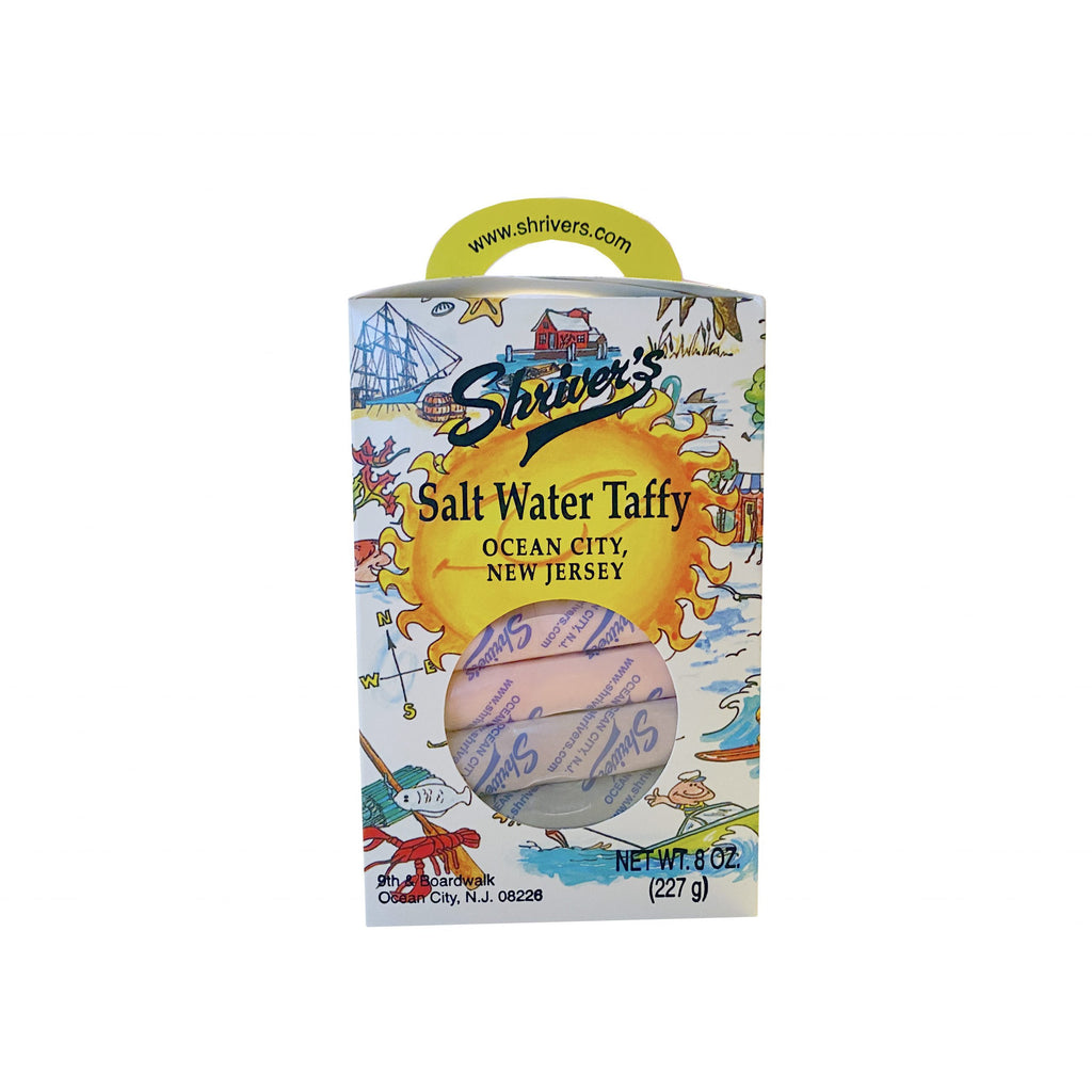 Shriver's Salt Water Taffy (1/2 lb. Fancies Gift Box)