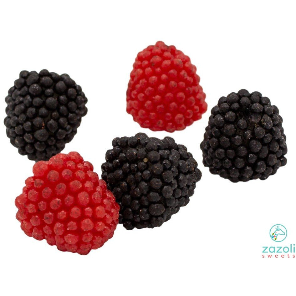Haribo® Raspberry And Blackberry Berries Gummies