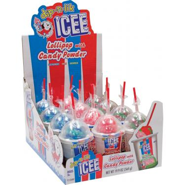 ICEE Dip-n-Lik Lollipop and Candy Powder