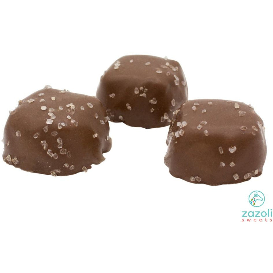 Milk Chocolate Vanilla Sea Salt Caramels
