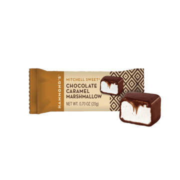 Mitchell Sweets Natural Chocolate Caramel Covered Marshmallows
