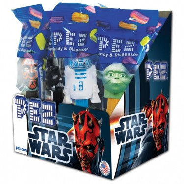 Star Wars Pez Candy