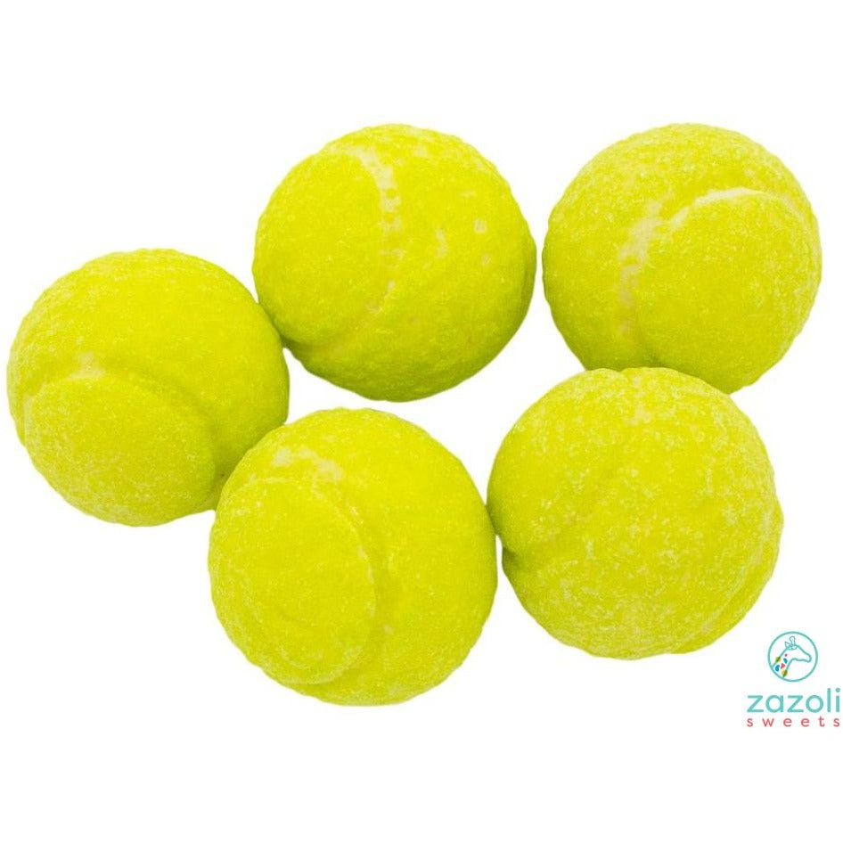 Sour Powder Filled Tennis Gumball Gum