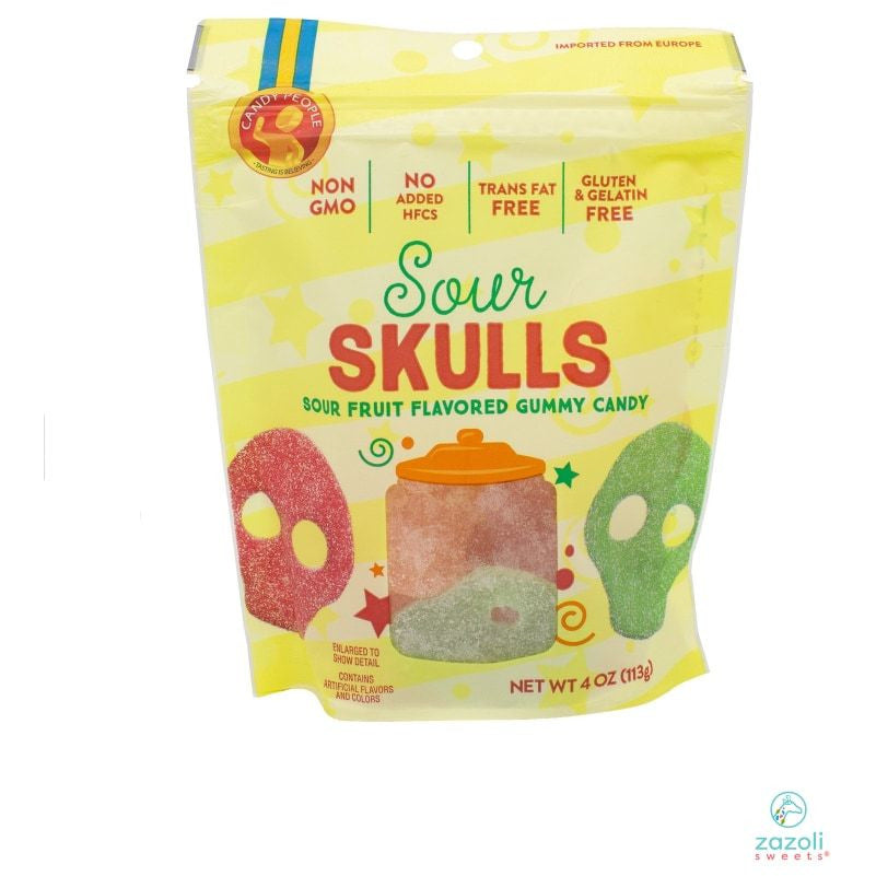 Sour Skulls Bag Gummies