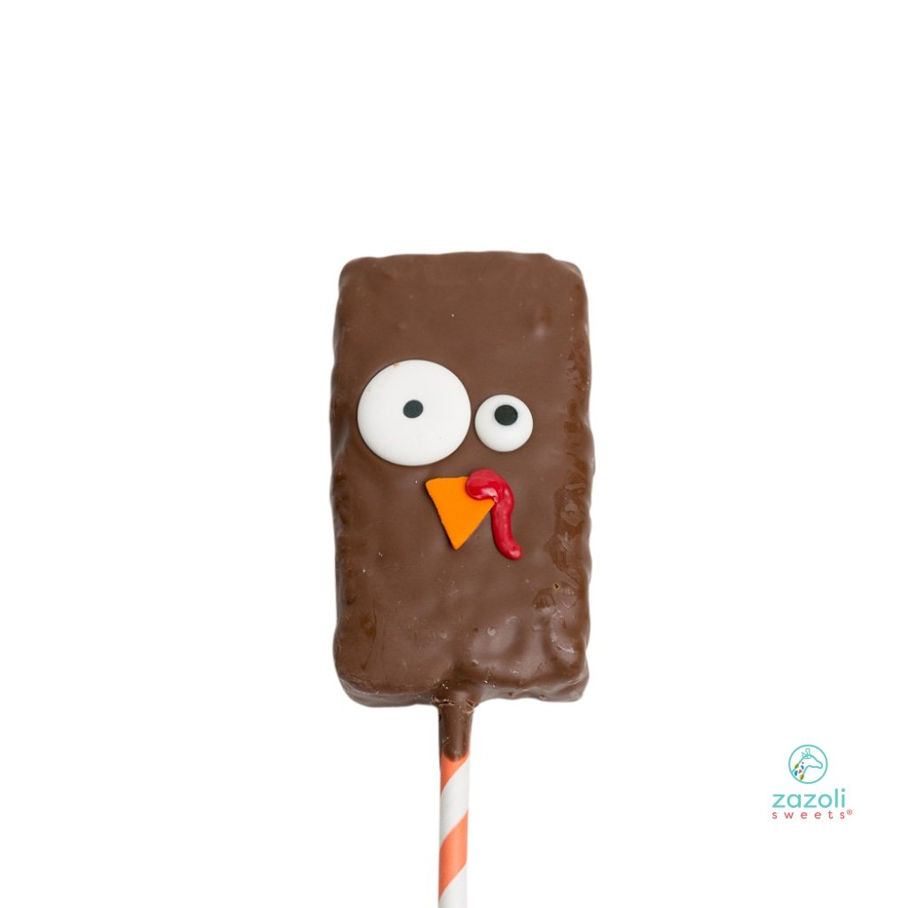 Zazoli Sweets® Quirky Turkey Crispy Treat