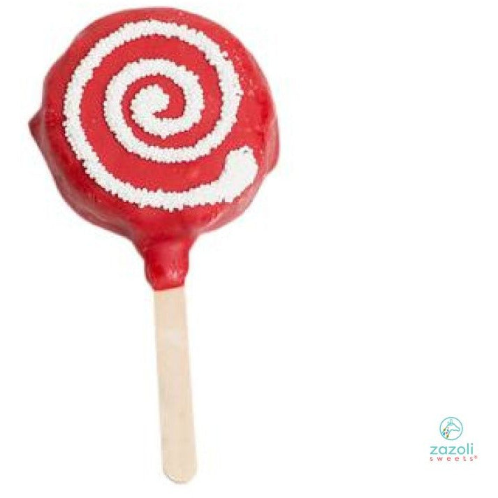 Zazoli Sweets® Red Swirl Crispy Treat