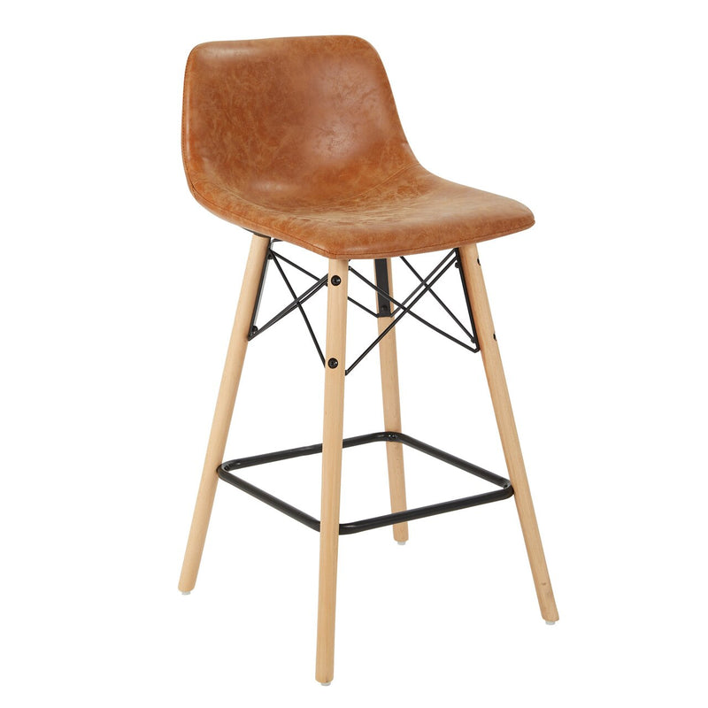 "Ave Six Allen 26"" Counter Stool in Sand"