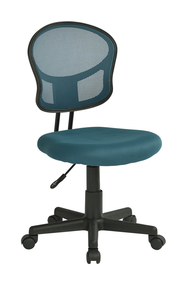 OSP Designs Mesh Task chair in Blue